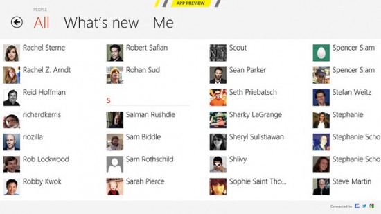 Social - Windows 8
