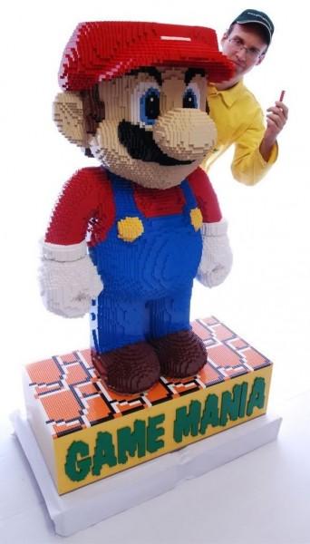 Mario Tamanho Real