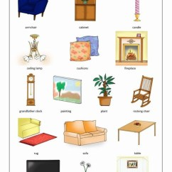 Sofa En Ingles Connector Brackets Living Room Flashcards For Kindergarten | La Sala De Estar
