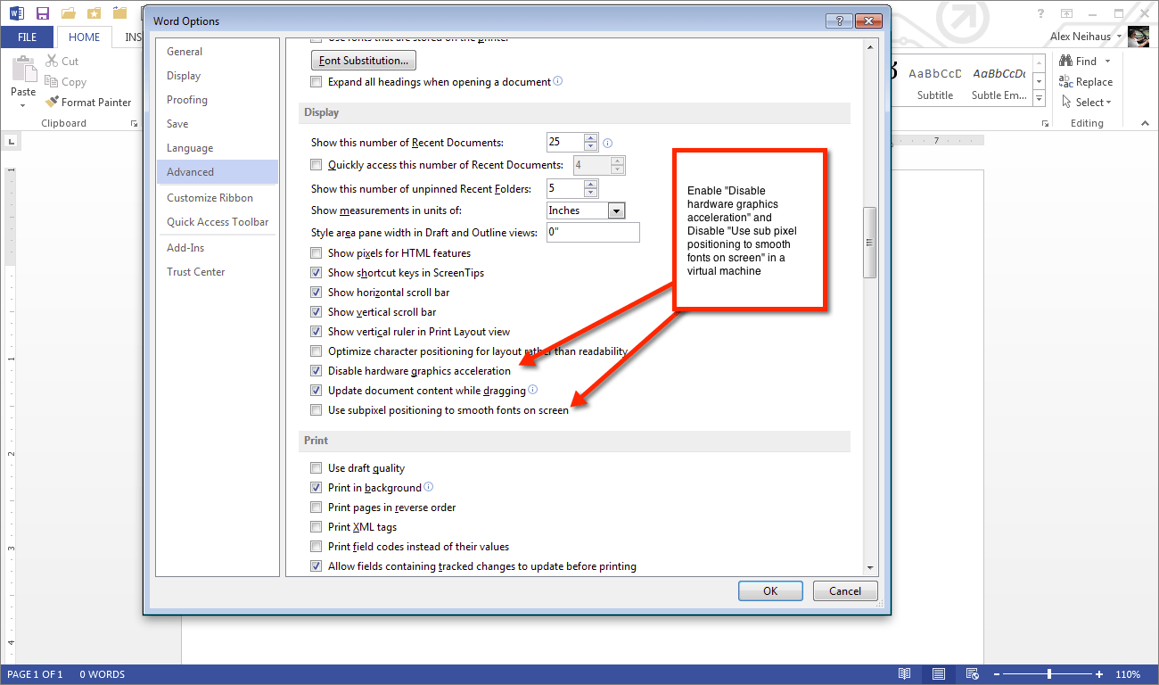 How to improve Office 2013 performance in a virtual machine ...