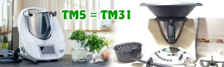 Equivalencia tm5 y tm31
