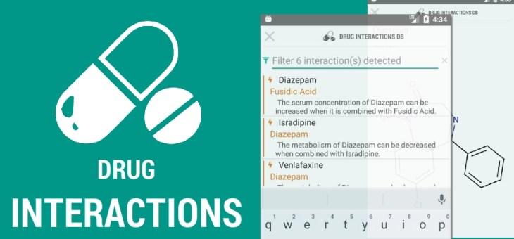 2 Applications Android grauites pour les interactions médicamenteuses et la toxicité des substances chimiques