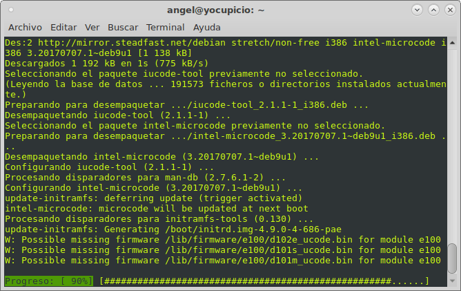 apt install intel-microcode