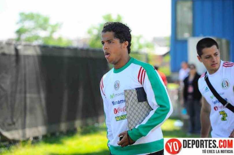 El delantero Giovani dos Santos, quien milita en el equipo Villarreal prefiere no hablar de Carlos Vela.