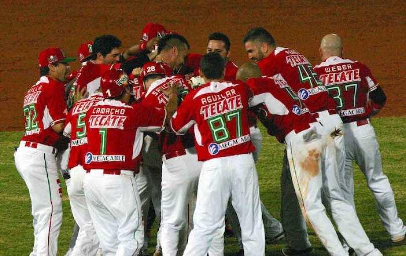 México esperaba por el ganador  entre Navegantes de Magallanes de Venezuela ante Indios de Mayagüez de Puerto Rico. Foto Notimex