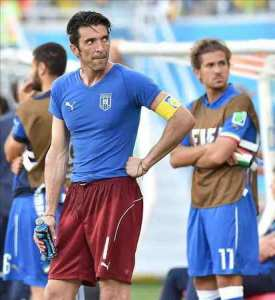 """""""Es un día muy triste para toda Italia"""", afirma Buffon. EFE"""