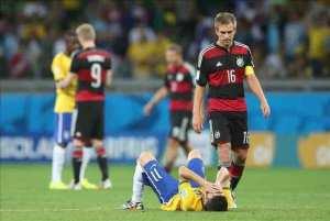 ¿Con el 0-5 Alemania sacó el pie del acelerador?. EFE