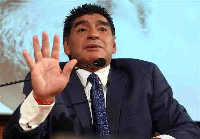 El exfutbolista argentino Diego Armando Maradona. EFE/Archivo