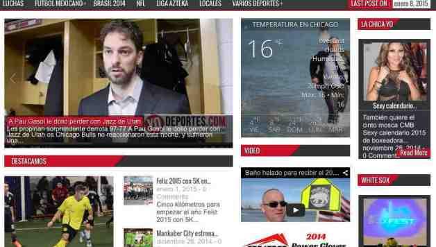 Yodeportes.com las noticias deportivas en Chicago