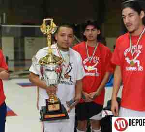 Deportivo DF y Niupi FC en La Copa Sol