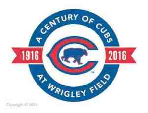Chicago Cubs logo century