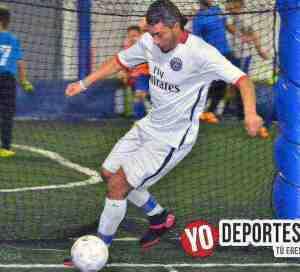 Mauricio Mejía el Rey del Gol en Fuerza Latina Soccer League