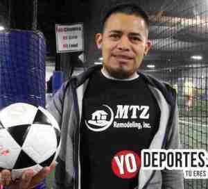 Oscar Martinez entrenador del Deportivo MTZ