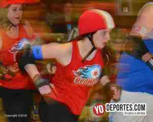 Chicago Red Hots despiden la temporada de roller derby