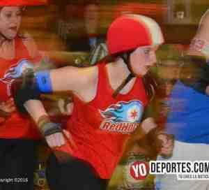 Chicago Red Hots despiden la temporada de roller derby