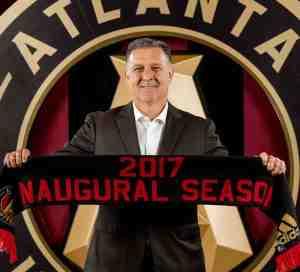 """""""Tata"""" Martino primer técnico de Atlanta United"""