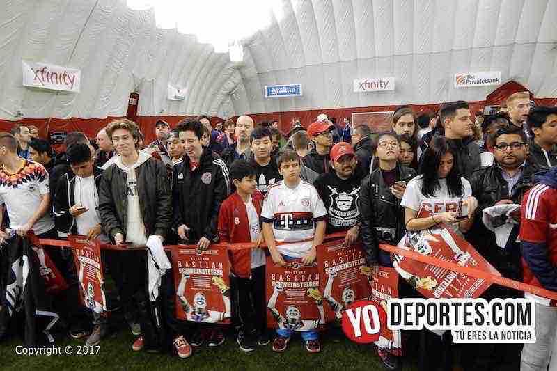 Bastian Schweinsteiger-fans Chicago Fire