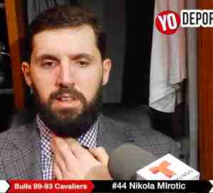 Nikola Mirotic y los Bulls frenan a LeBron James y Cavaliers