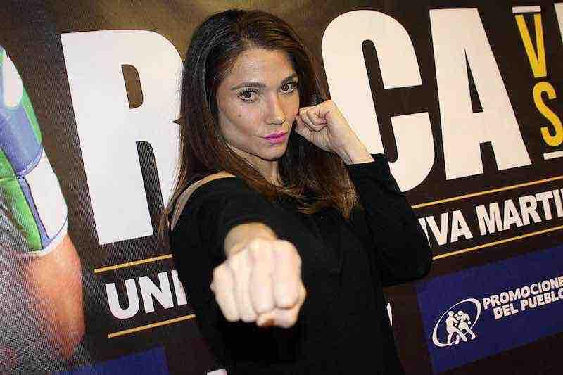 Boxeadora-Dulce-Sexy Garcia