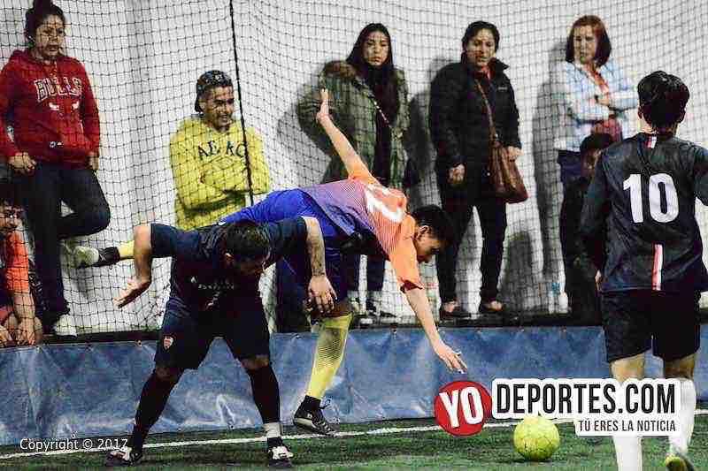 Bulldogs contra Remy FC-Fuerza Latina Soccer League