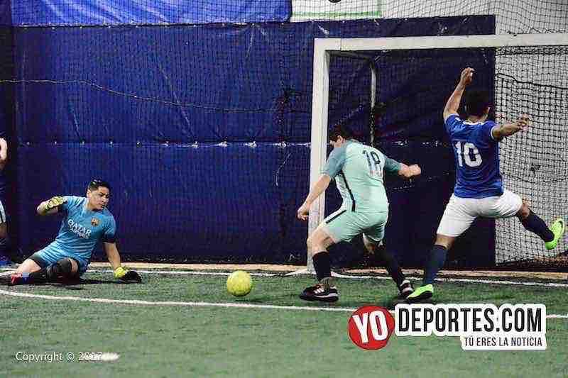 La Juve-La Mangana semifinal de Fuerza Latina Soccer League-portero