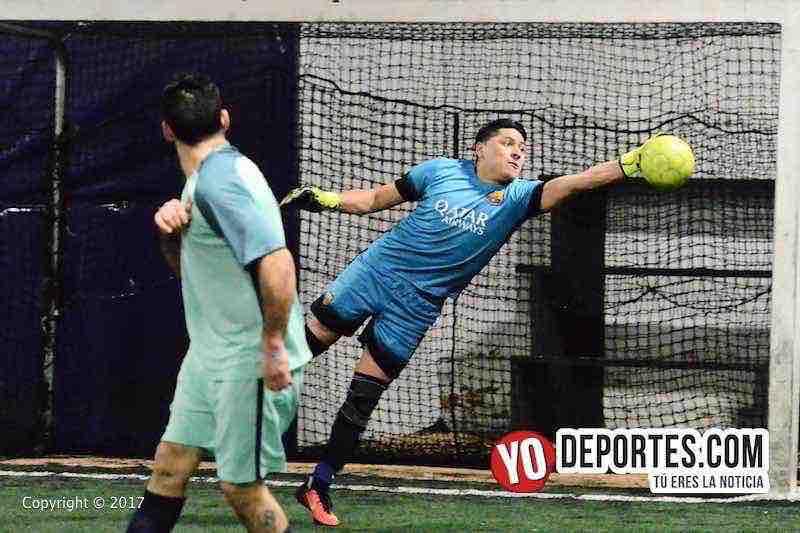 La Juve contra La Mangana semifinal de Fuerza Latina Soccer League