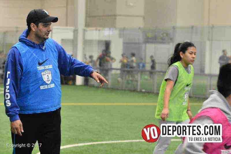 Jesus Estrada lleva la selección de Chicago al Torneo Internacional de Pachuca.