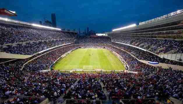 Real Madrid contra las estrellas de la MLS en el Soldier Field