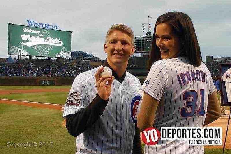 Ana Ivanovic-Bastian Schweinsteiger-Chicago Cubs