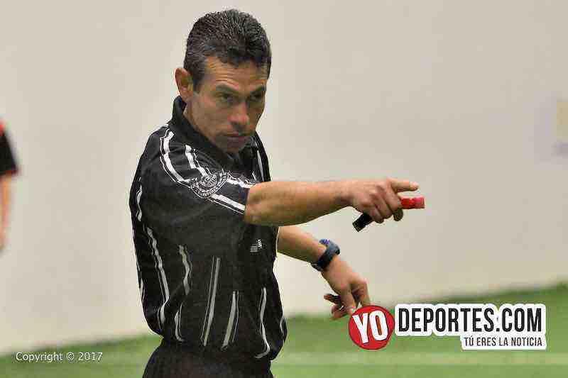 Arbitro Rey Salgado-Milan-Iguala-Liga Douglas final
