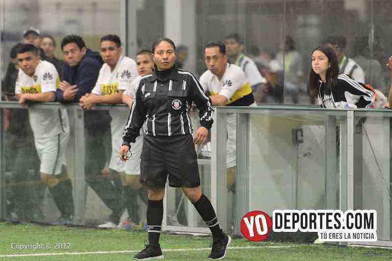 Arbitro Rosalba Luna-Milan-Iguala-Liga Douglas final