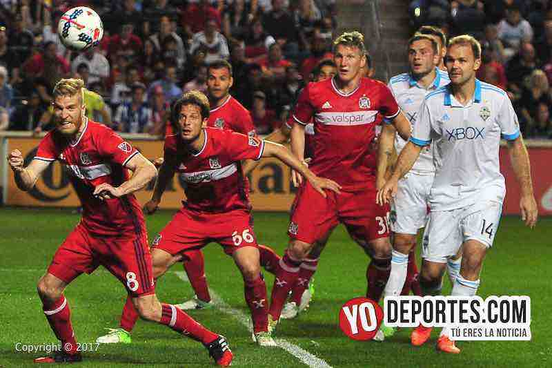 Chicago Fire 4-1 Seattle Sounders-Toyota Park