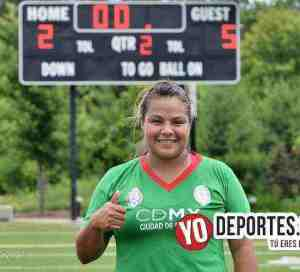 Policía Federal Magaly García la favorita de la final en Chicago