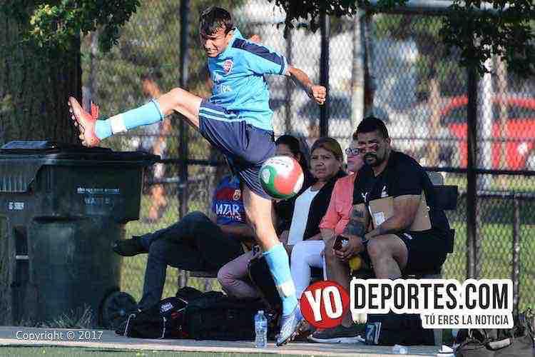 Fierro FC-Real Cuauhtemoc-Liga San Francisco-futbol en chicago