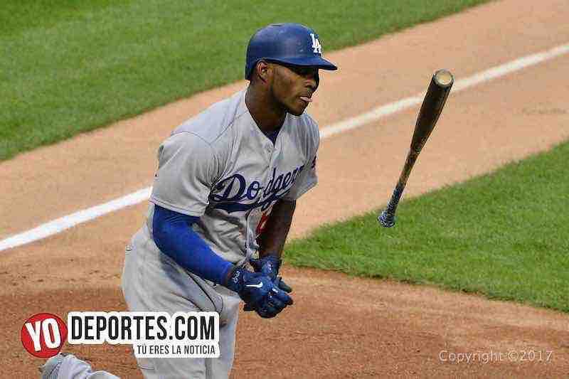 Yasiel Puig-Medias Blancas-White Sox-Dodgers
