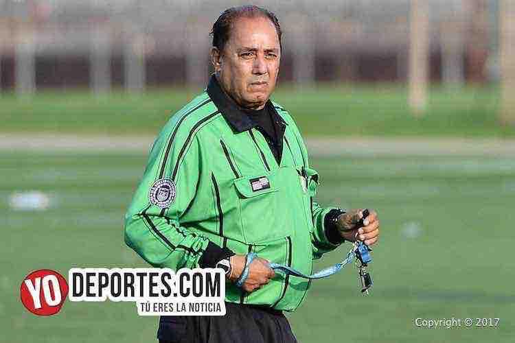 Arbitro Hector Diaz-Deportivo Roma-Cejas FC-Chicago Soccer League