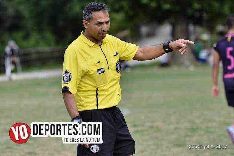 Arbitro Jose Hernandez-Artilleros-Toros Neza-Liga 5 de Mayo