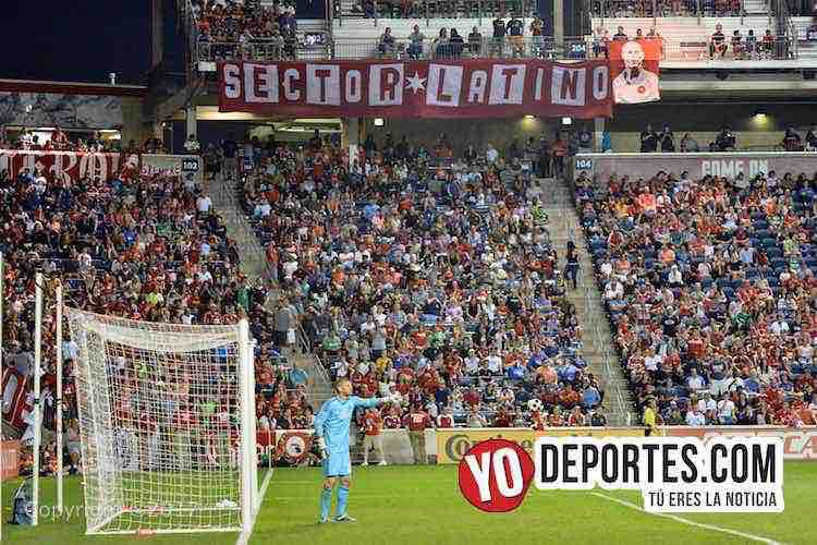 Chicago Fire-Toronto FC-Porra sector Latino