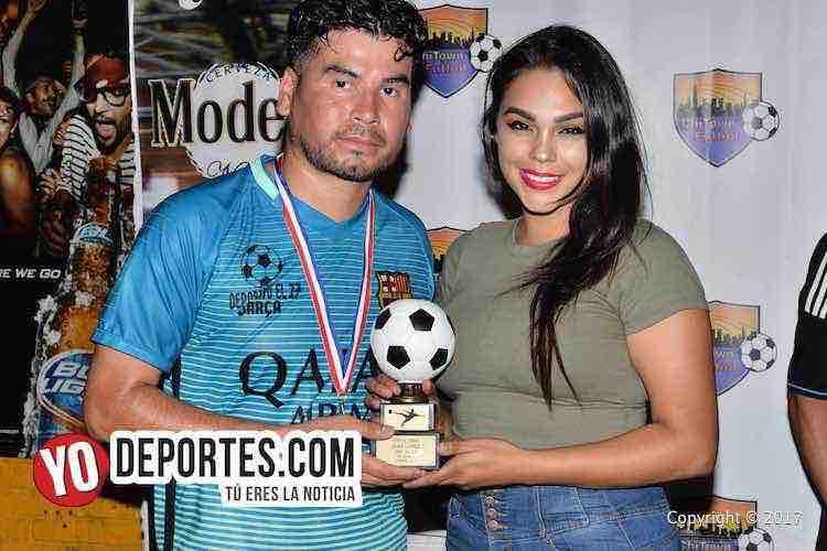 La Bamba-Deportivo El 17-Chitown Futbol-Juan Lopez campeon goleador