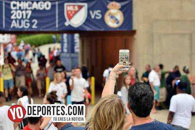 MLS All-Stars-Soldier Field-telefono celular