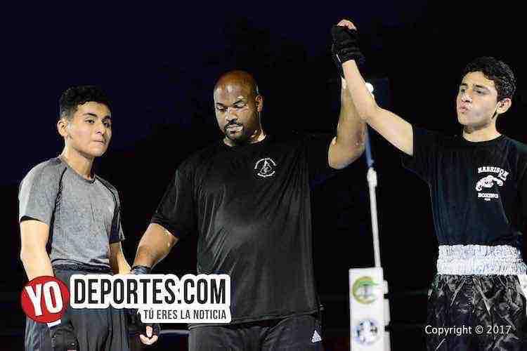Seth Solis-Danny Lopez-Harrison Park Boxing Show