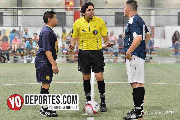 Arbitro Alvaro Urbina-Pumas Floresta-Atlante-Liga 5 de Mayo