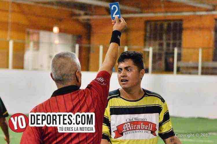 Arbitro Pablo Marban-Chavita Kutz-Atletico Espanol-Chitown Futbol Mens Wednesday Night League