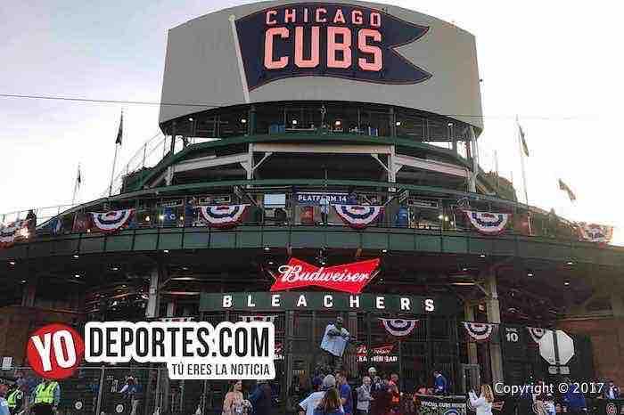 Chicago Cubs-LA Dodgers-NLCS-wrigley field