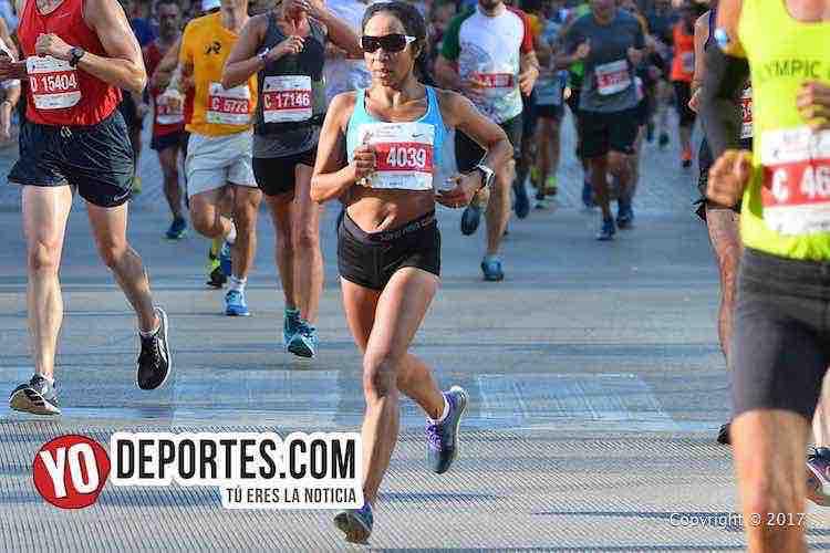 Daisy Favela-Chicago Maraton 2017
