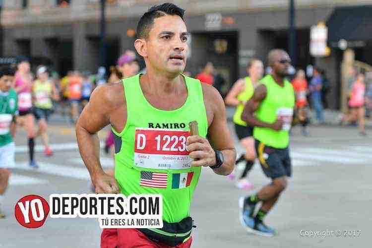 Ramiro Jimenez-4-06-29-Chicago Maraton 2017