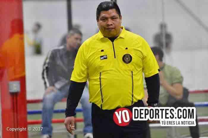 Arbitro-Deportivo DF-Real Betis-5 de Mayo Soccer League