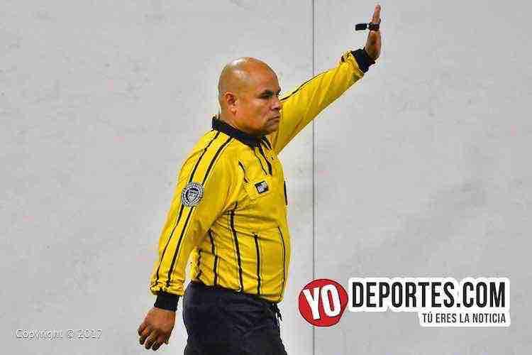 Diego Rivera árbitro en Mundi Soccer League de Chicago