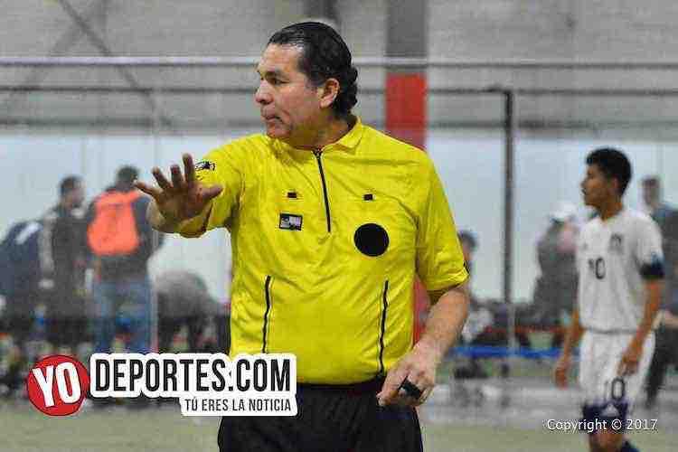 Arbitro Jorge Ruiz-San Antonio Raiders-Yuriria