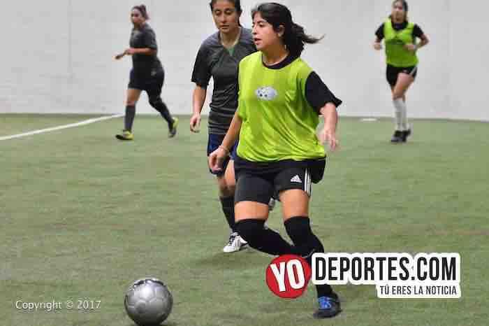 Deportivo DF-Real Betis-5 de Mayo Soccer League-futbol femenil